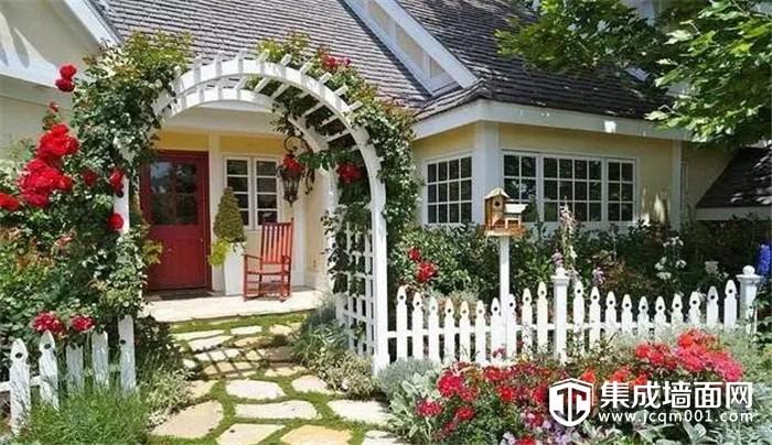 宁静致远隐于自然 华夏杰墙面教你装修小别墅庭院
