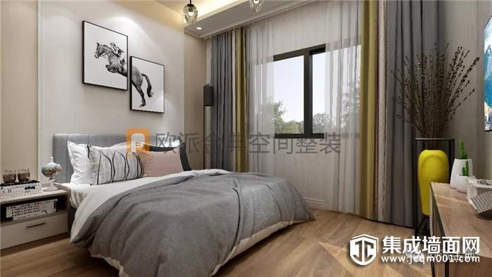 欧派金典集成墙面打破传统印象,根据消费者要求时间安装!