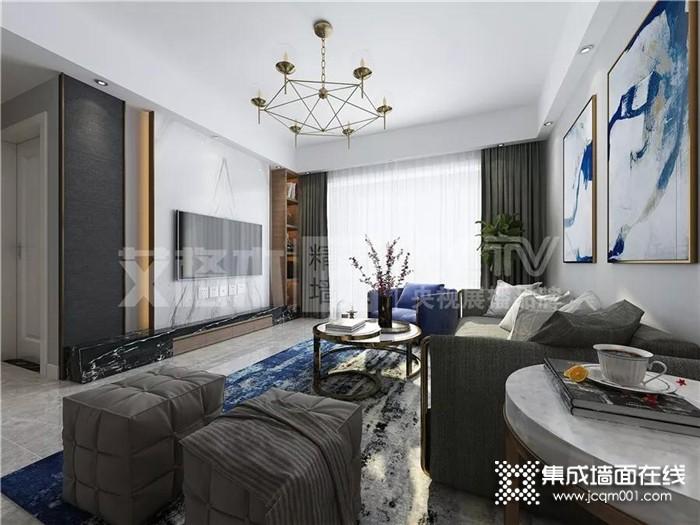艾格木精装墙顶奇妙设计,新的一年已经到了你的家还是苍白无色的吗?