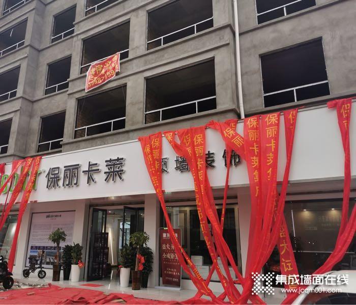 保丽卡莱顶墙浙江温州龙港专卖店