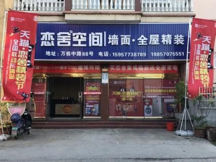 恋舍空间墙面浙江乐清专卖店