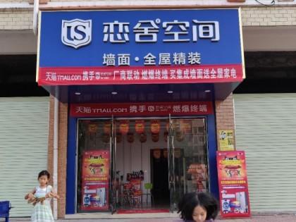 恋舍空间墙面江西会昌县专卖店