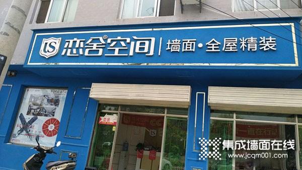 恋舍空间墙面陕西蓝田县专卖店