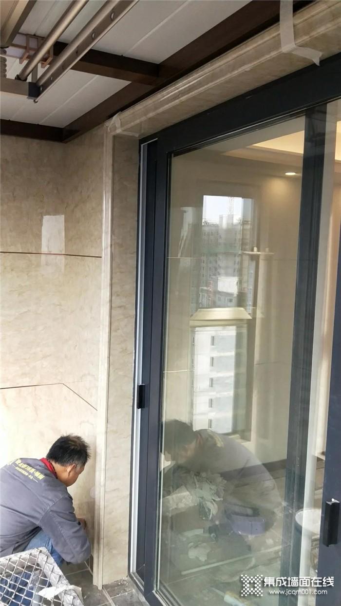 致敬最美逆风者世纪豪门陕西富平店,从精装房阳台入手,成功逆风翻盘!