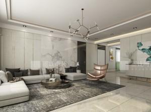 墨线青装现代轻奢风装修图,客厅装修效果图