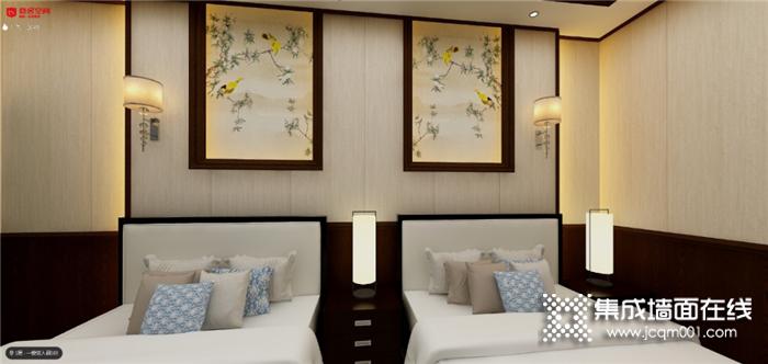 恋舍空间集成墙面颜值与实力兼具,家装工装都不是问题