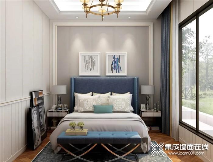 卧室装修选择奥华墙品,带来一种轻松的视觉效果,给你惬意的生活体验