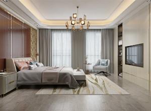 金牌速装图片,新中式卧室装修效果图