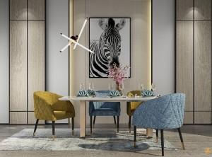 北欧风格背景墙图片,金牌速装背景墙效果图