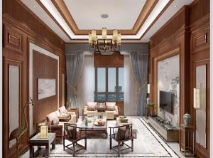 金牌速装中式风格效果图,中式客厅图片