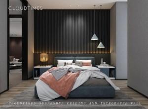 云时代全屋整装装修图片 现代简约风格卧室装修效果图