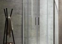 卫生间不用浴帘,该如何做干湿分离?推荐这四种方案!