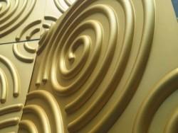 东莞东莞三维板3D背景墙跨境定制款PVC背景墙贴