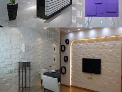 三维板背景墙3D立体天花板跨境定制彩色3D板
