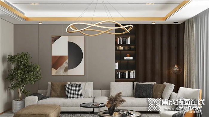 奥华贝加尔灰墙板,给空间增添高级感