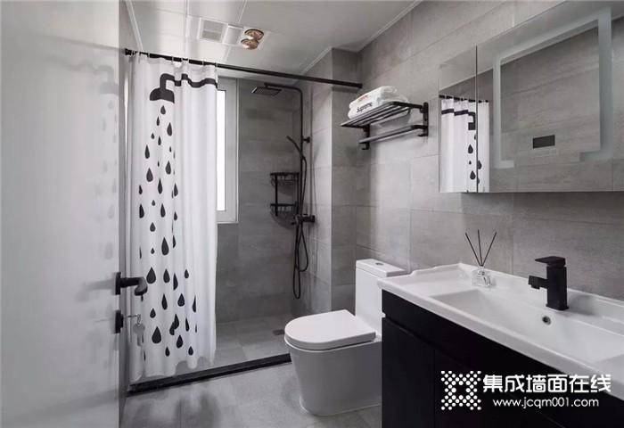 把家里的卫生间设计得美一些,每天洗澡都会有个好心情