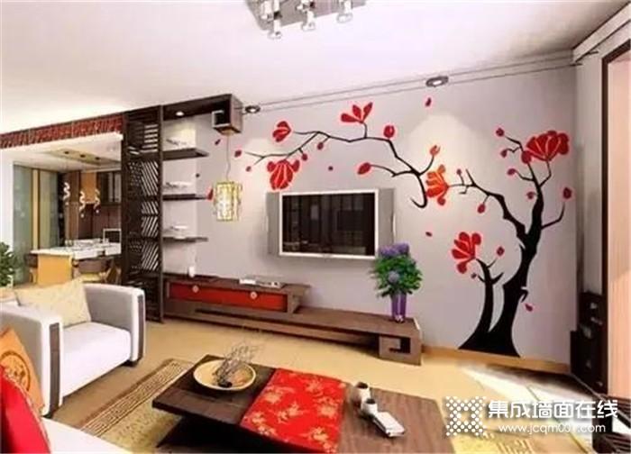 装修使用海创竹木美学墙板,朋友来家倍儿有面!