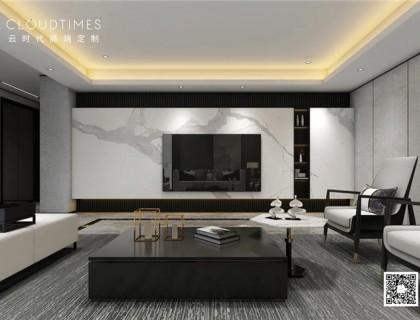 云时代打造的新中式客厅,你值得拥有
