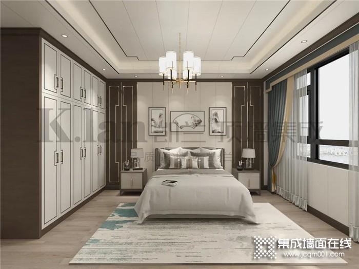 凯兰新中式卧室,尽显静逸脱俗之美!