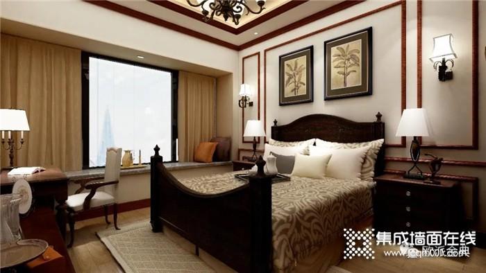 旧房翻新选择欧派金典集成墙面,想要的风格任你挑!