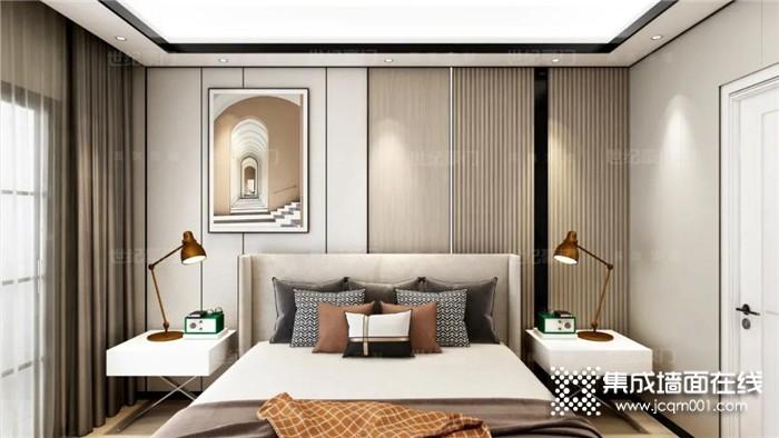 世纪豪门卧室长城板,让卧室颜值与实用性兼具