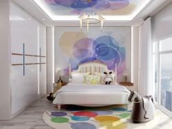 奥普集成墙面-现代时尚系列卧室背景墙