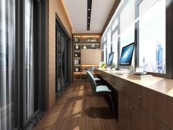 几米空间阳台-书房阳台