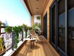 几米空间阳台-花园阳台