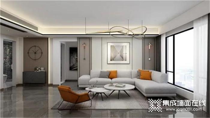 吉柏利无醛快装从心出发,打造客厅质感与温度!