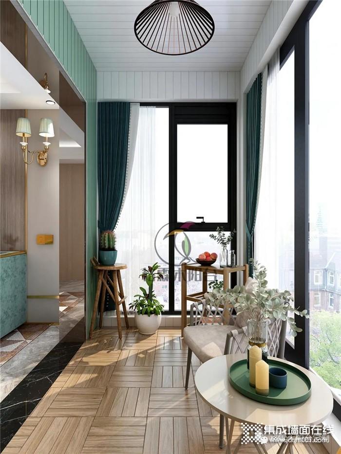 想要阳台变精致,绝对不能错格霖木过这些设计!