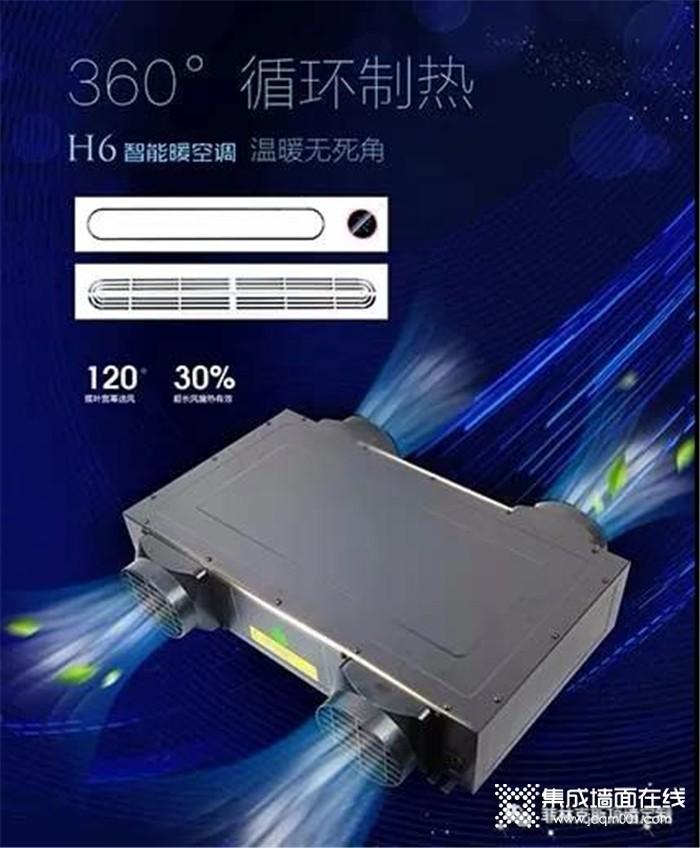 菲林克斯新品H6智能卫浴暖空调 不只是颜值革命~