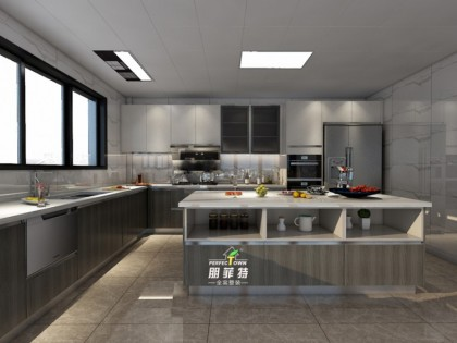 朋菲特開放式廚房