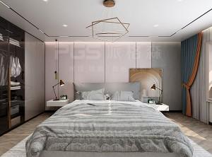 派格森顶墙效果图,床头背景墙装修图