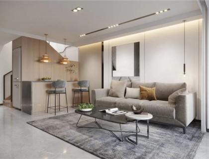 艾格木打造全景加現代風LOFT單身公寓,小戶型也不輸質感!
