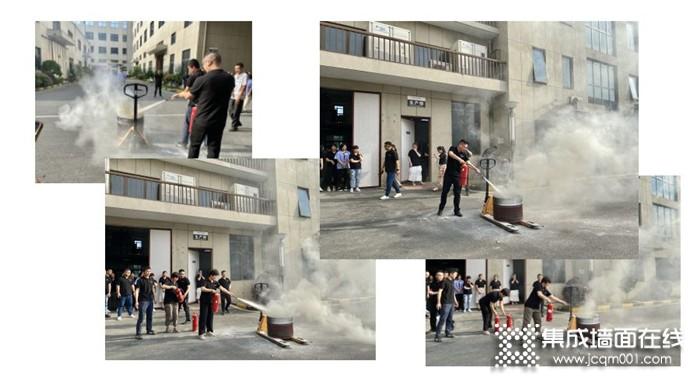 为提高企业消防安全意识,巨奥开展消防演练|防患火灾隐患 增强消防意识