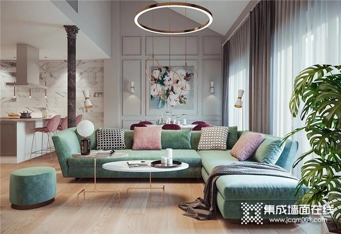 来看看欧派金典2021年清爽的家居配色吧!