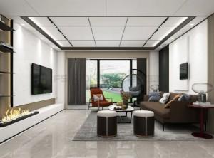 法狮龙客厅吊顶160m² | 轻奢风格「亲子宅」