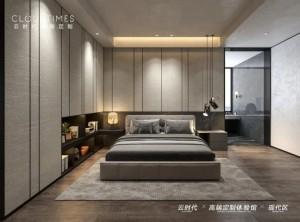 云时代全屋整装卧室背景墙装修效果图