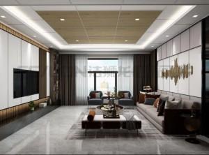 法狮龙客厅吊顶悦尚系列效果图,感受这份木质格调