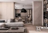 定制护墙板实现室内整体装修风格统一