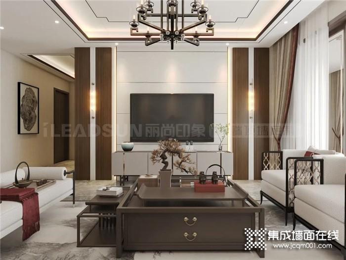 丽尚印象95m²装修实例   优雅庄严的装修很赞,邻居都纷纷模仿!