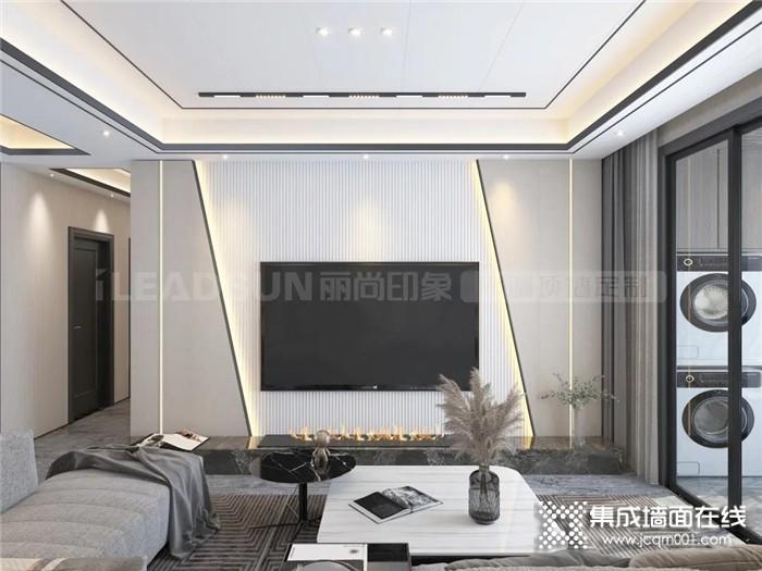 丽尚印象这样的「现代风」四居室,也太好看了吧!
