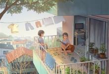 艾格木:阳台这样设计, 洗晒收纳, 完美扩容