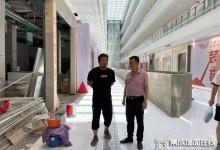 工程现场丨云时代董事长带队赴平湖·时尚中心监察施工进度并签署新项目!!