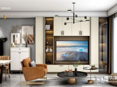 顶上整装定制 电视柜这样设计客厅颜值翻倍提升