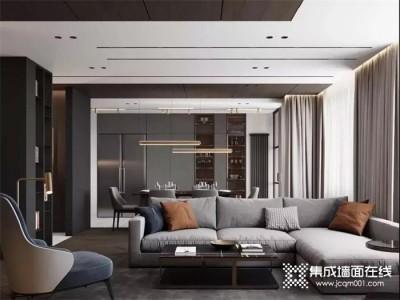 荣事达集成墙面:木色与纯色,演绎低调奢华